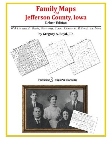 Jefferson County Iowa Map.Family Maps Of Jefferson County Iowa Gregory A Boyd J D
