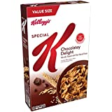 Kellogg's Special K, Breakfast Cereal, Chocolatey Delight, Value Size, 18.5oz Box