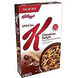 Kellogg's Special K, Breakfast Cereal, Chocolatey Delight, Value Size, 18.5oz Box