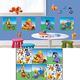 Winnie the Pooh Decorating Self Stick Decorating Kit. by Disney