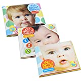 Bath Time Bubbles All About Babies Bath Book Set: Counting, Colors, and Baby Face