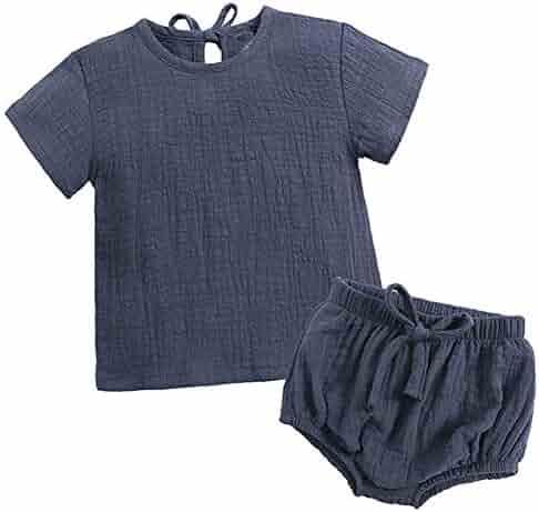 4Clovers Baby Japanese Kimono Robe Cotton Infant Comfy Loose Pajamas