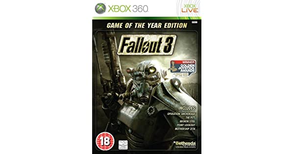 Fallout 3: Game of the Year Edition(輸入版): Amazon.es: Videojuegos