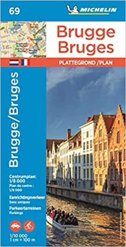 Michelin Bruges Map No 69 Road Tourist Map Michelin