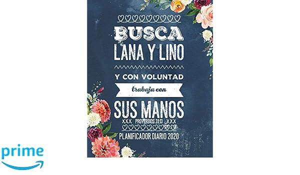 Busca Lana y Lino y Con Voluntad Trabaja Con Sus Manos ...