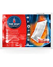 THE HEAT COMPANY Multicalentador - calentadores - EXTRA CÁLIDO - 20 horas de calor - calor instantáneo - aire activado - puro natural - 10 piezas