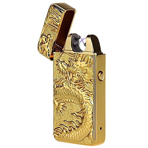 Padgene Electronic Pulse Double Arc Cigarette Lighter, Chine