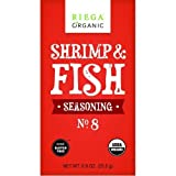 Riega Foods Seasoning - Organic - Shrimp And Fish - No. 8 - .9 Oz - Case Of 8