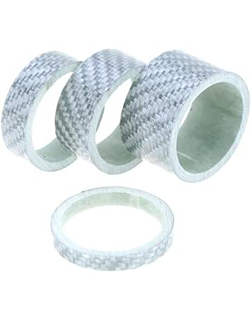 Carbon Fiber Casque Fourche Spacer Kit Guidon Spacer Ring potence joint