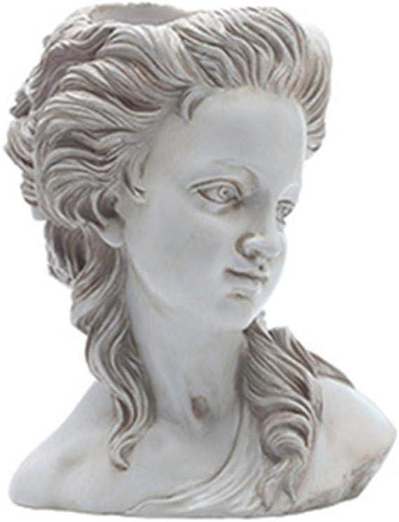 Estatuas Esculturas Decoración Diosa Griega nórdica Adeline Cabeza ...