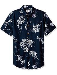 Men's Short Sleeve Soho Print Summer-B51