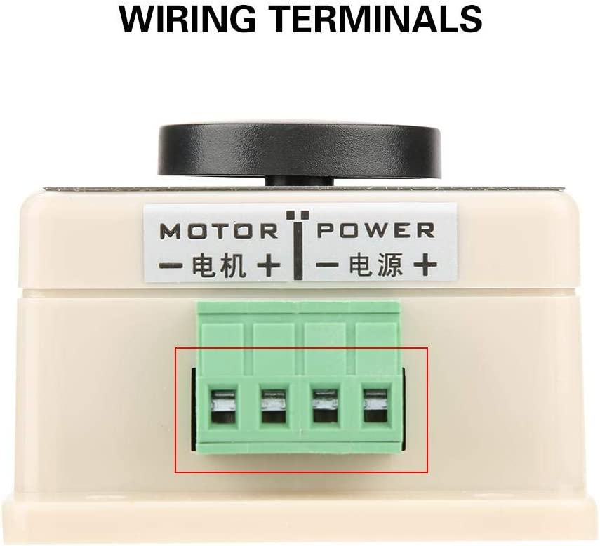 PWM DC Motor Governor 12V//24V//36V//48V 20A High Power Motor Speed Control Switch PWM DC Motor Speed Controller