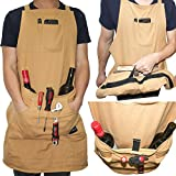 Heavy Duty Cotton Canvas Utility Work Bib