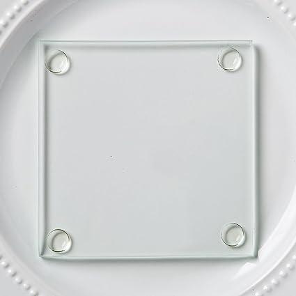 ACRYLIC PHOTO COASTER 20 High Quality Clear Acrylic Square Coasters 3.5 X 3.5