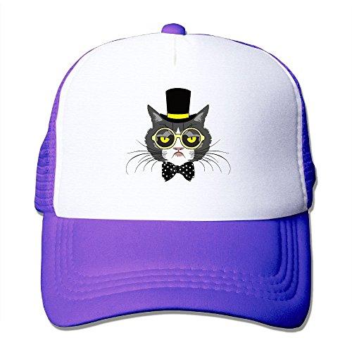 Womens Cotton Cap Adjustable Hat Magician Cat