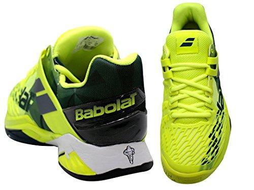 Babolat Propulse Fury Ac Menns Tennis Sko - Gul