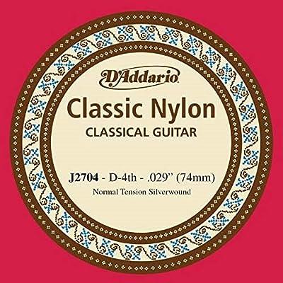 DAddario J2704 - Cuerda individual de nailon para guitarra ...