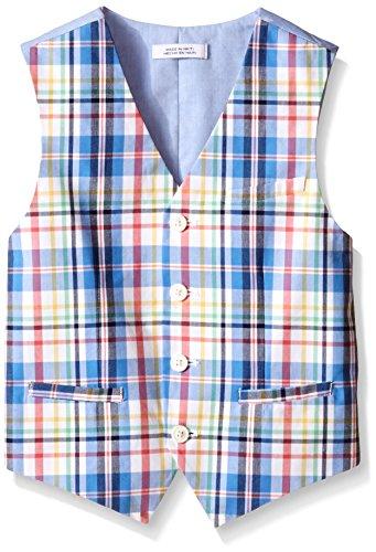 IZOD Big Boys Plaid Vest product image