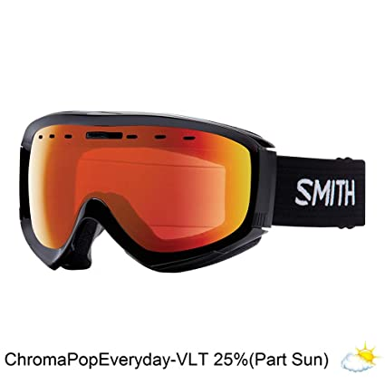 e8e535a56f48 Smith Optics Adult Prophecy OTG Snow Goggles Black Frame ChromaPop Everyday Red  Mirror