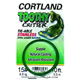 Cortland Toothy Critter Tie - able Stainless Steel Leader