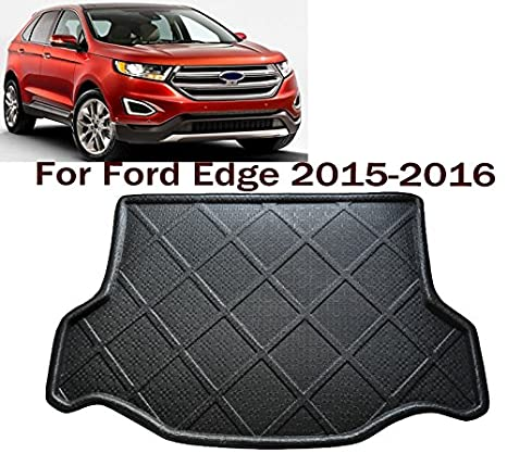 Car Boot Pad Liner Cargo Mat Tray Trunk Floor Protector Mat Custom Fit Ford Edge