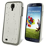 Celicious White Curly Brow Crystal Studded Cover Case for Samsung Galaxy S4 I9500