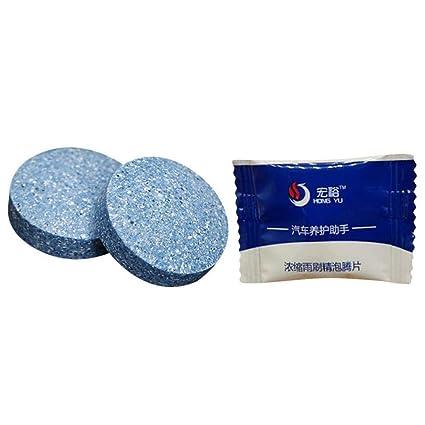 IrahdBowen Tabletas Efervescentes De Limpieza Multifuncional para Automóviles - para La Limpieza De Parabrisas De Vidrio