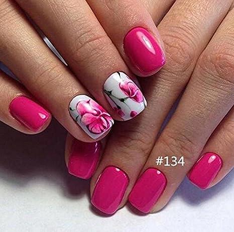 Gellen - Set de 6 esmaltes de uñas de gel - distintos colores: Amazon.es: Belleza