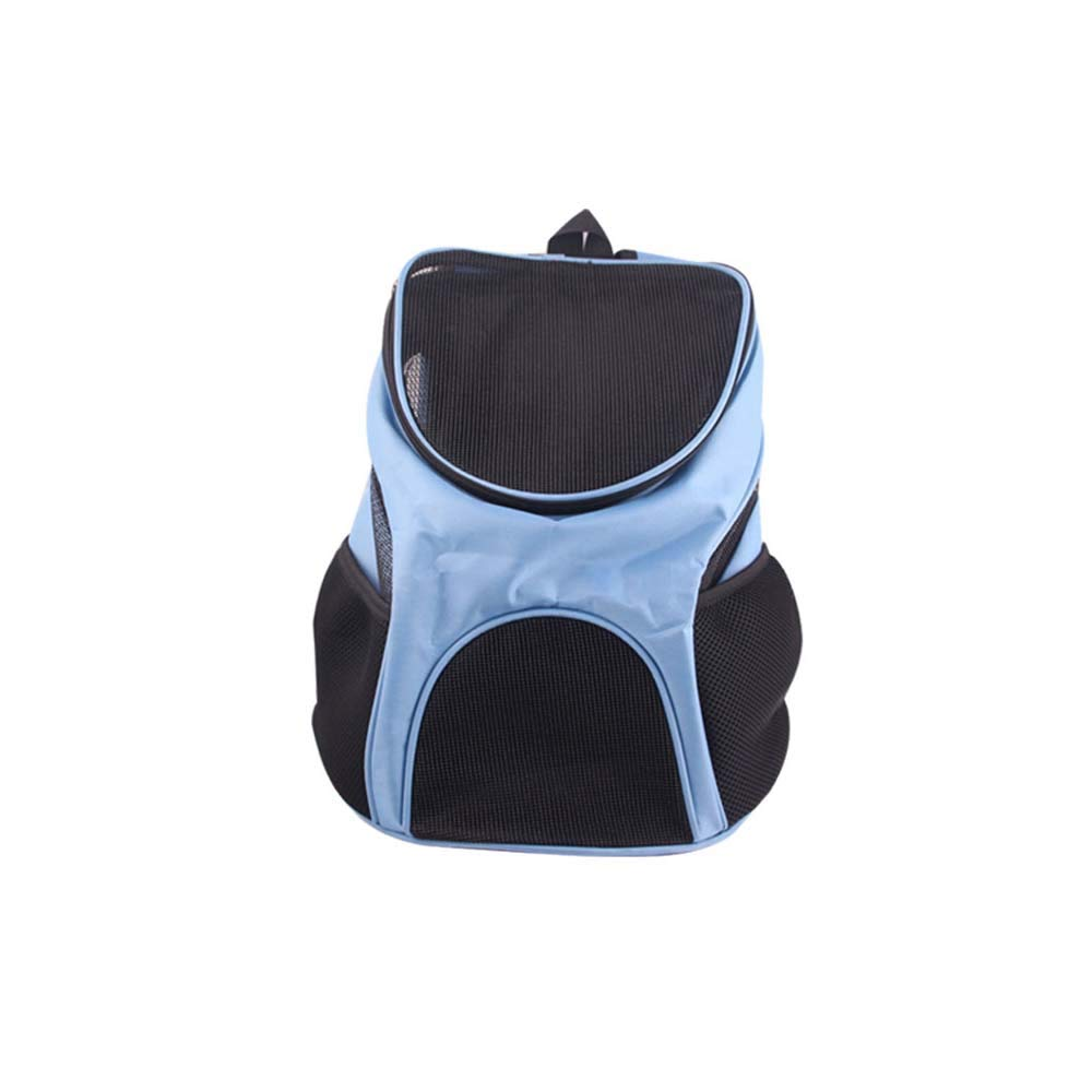 bluee Pet Carrier Backpack, Travel Backpack Lightweight Durable for Small and Medium Puppy, Used for Travelling, Camping,bluee