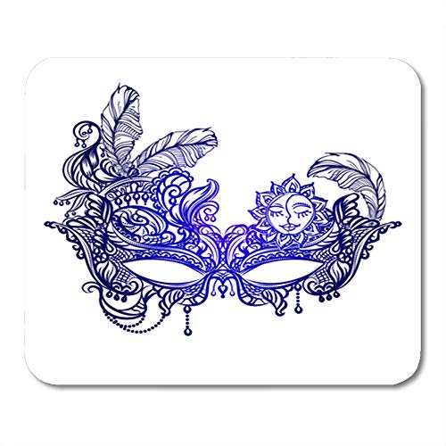 Semtomn Rectangle Mouse Pad Rubber Mini 9.5
