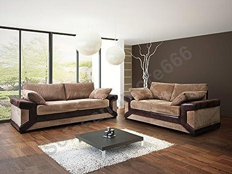 Amazon.com: Dino 3 & 2 plazas sofá – Scatter espalda ...