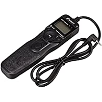 SHOOT RS-60E3 90cm LCD Timer Shutter Remote Release Control for Canon EOS 650D 600D 550D 500D 1000D 450D 400D 350D 300D 100D 700D 60D (Rebel T4i Rebel XTi Rebel XSi Rebel XS Rebel T2i Rebel T3i)