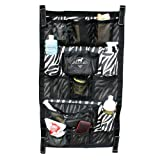 Professionals Choice 24X40 Equine Long Trailer Door Caddy (Zebra)
