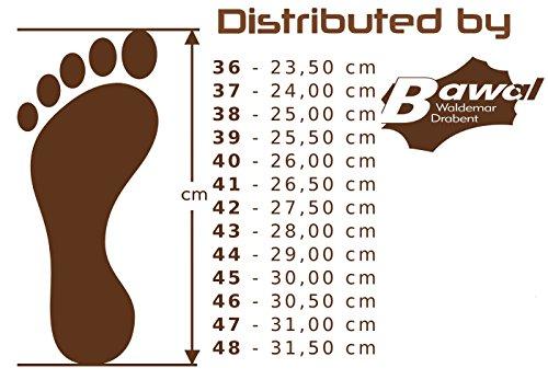 BeComfy Filzpantoffeln Unisex-Erwachsene Aus Filz Hausschuhe mit Filzsohle/Gummisohle Damen Herren Größe 36 37 38 39 40 41 42 43 44 45 46 47 48 FD05 Grau (Gummisohle)