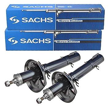 2 amortiguadores de la marca Sachs para eje delantero, presión de aceite: Amazon.es: Coche y moto