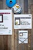 "Strathmore 140-305 Ready Cut Watercolor, Hot Press, 5"" x 7"", White, 25 Sheets"