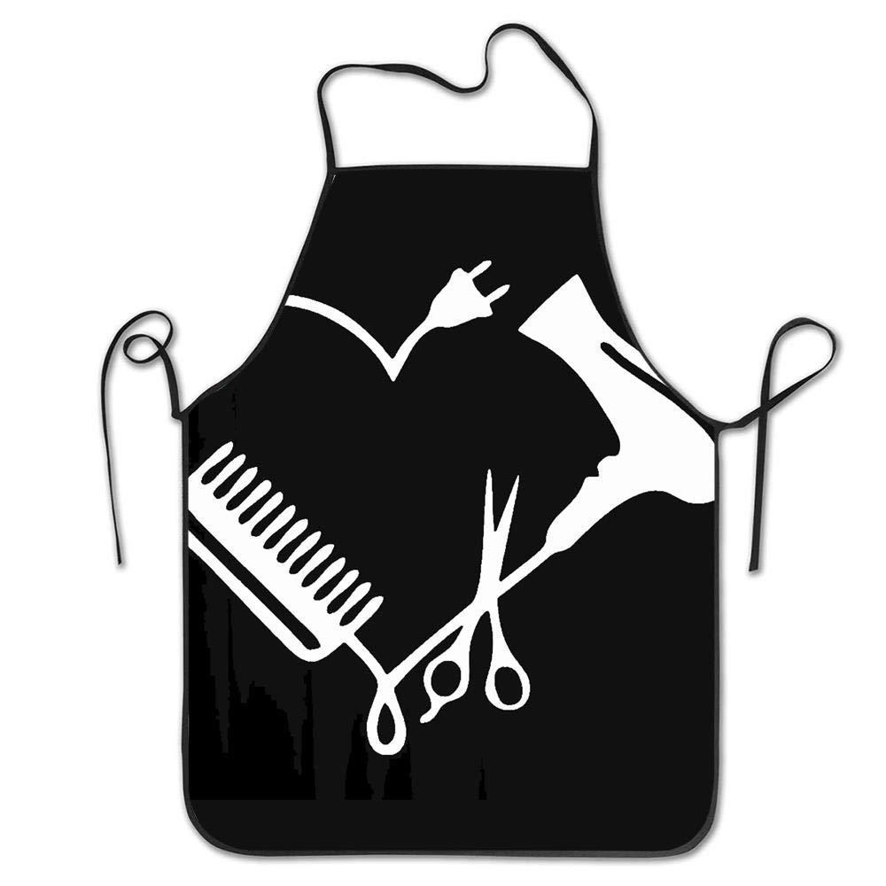 Not Applicable Delantal de peluquer/ía de Cintura Delantal de Cocina Unisex para cocinar Hornear Limpieza de jardiner/ía