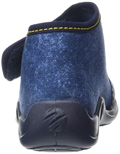 Rohde Kiddie - pantuflas con forro Niños Azul - Blau (56 ocean)
