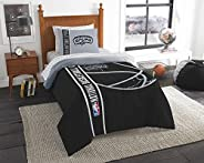 """Officially Licensed NBA """"Soft & Cozy"""" 5-Piece Twin Size Bed in a Bag Set, Multi Color, 64&qu"""