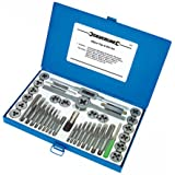 Silverline 186811 - Filettatrice professionale, set da 40 pezzi