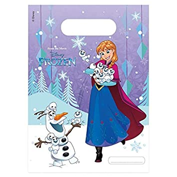 ALMACENESADAN 2367; Pack 6 Bolsas Disney Frozen; Ideal para ...