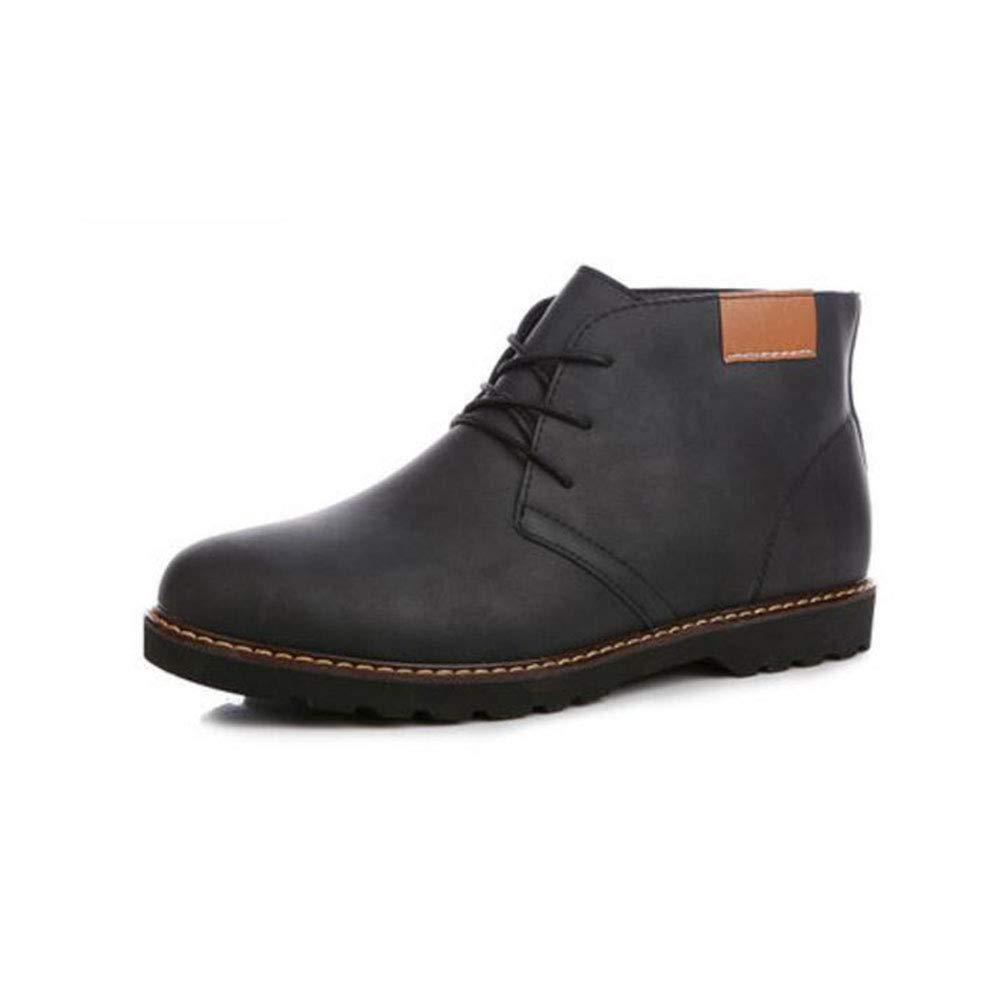 FH Herrenschuhe Herrenschuhe FH Martin Stiefel British Trend Stiefel (Farbe   Schwarz, Größe   EU39 UK6.5 CN40) 03ed05