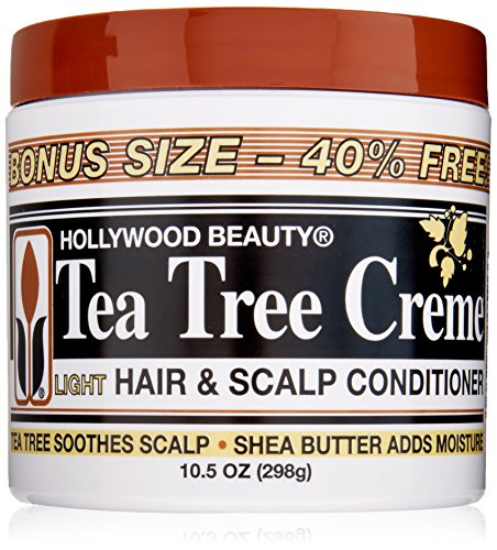 (Hollywood Beauty Tea Tree Creme Hair and Scalp Conditioner, 10.5 Ounce)