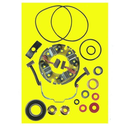 DB Electrical SMU9116 4-Brush 2 Stroke Starter Repair Kit for Polaris ATV UTV 250 300 350 400 includes Brush Holder /SM13298, SM-8/3084403, 3085393