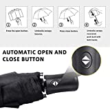 Windproof Umbrella Compact, Travel Umbrella