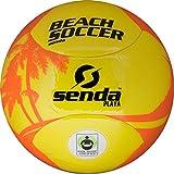 Senda Playa balón de fútbol, Certificado de Comercio Justo, Naranja/Amarillo