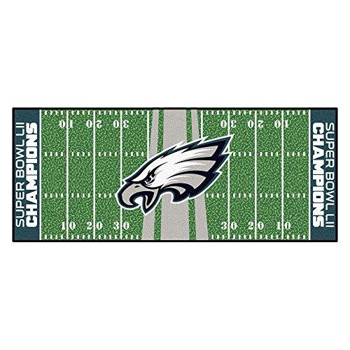 FANMATS Philadelphia Eagles Football Field Runner