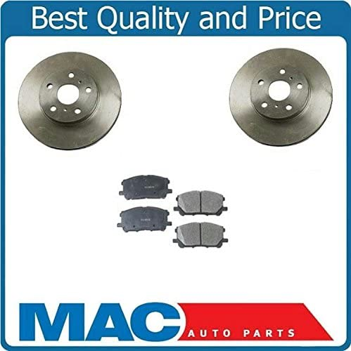 OE Replacement 2008 2009 2010 Toyota Highlander Rotors Ceramic Pads F+R