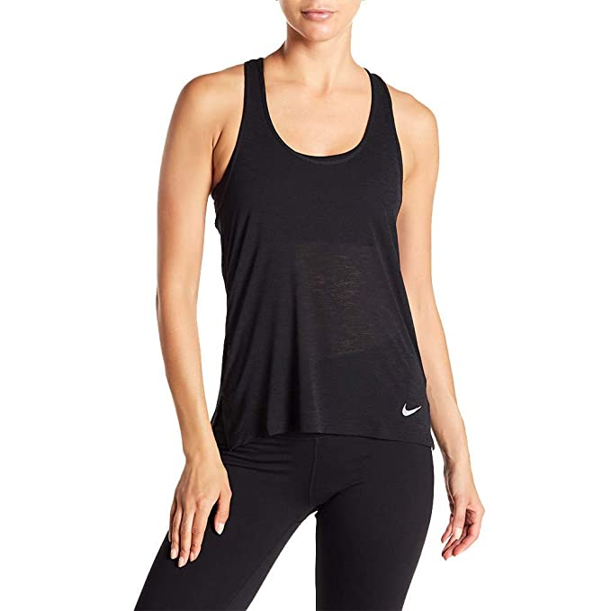 a0cfa2728 Nike Women's Breathe Dri-Fit Training Tank Top Shirt AA4405 (XL, Black)