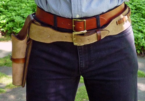 Straightline Clint Eastwood Holster Rig Cowboy Western Gun Belt Difference